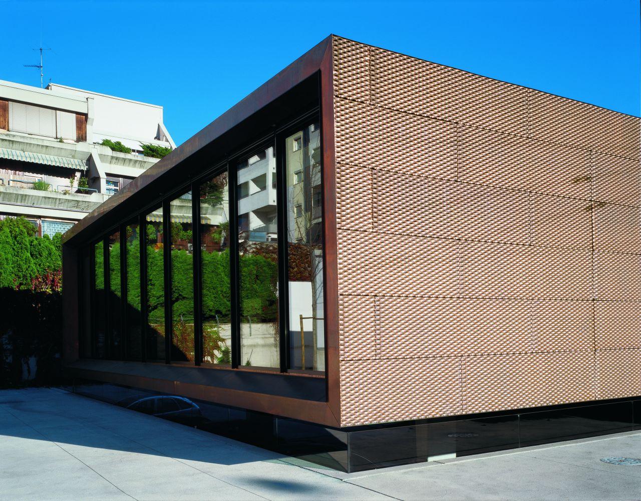 Vorgehangte Hinterluftete Fassade Aus Metall Geissler
